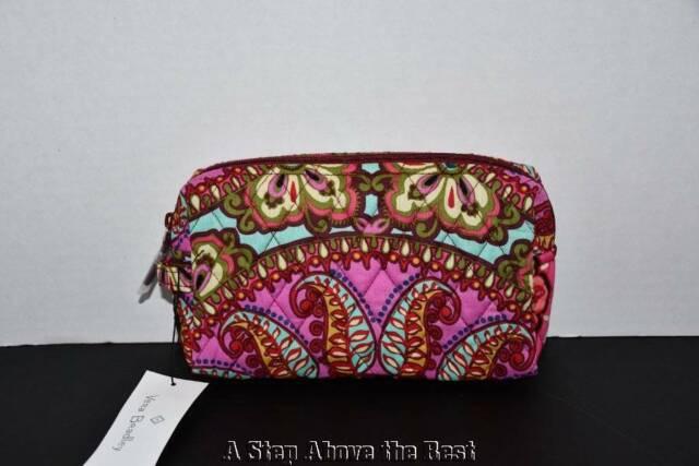 Vera Bradley Factory Medium Cosmetic Bag Resort Medallion