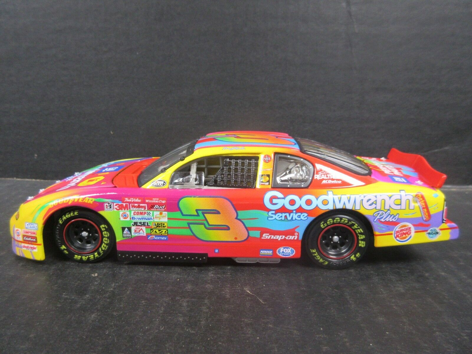2000 Wirkung Goodwrench Peter Max   3 Dale Earnhardt -- 1 24th scale