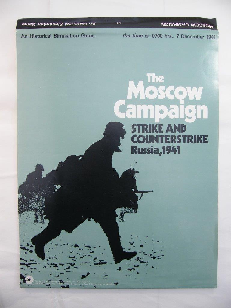 Moscou campagne-Strike et ATTAQUE 1941-SPI Games
