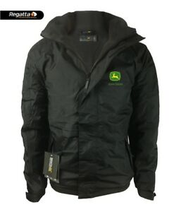 a537b7afc Details about JOHN DEERE Jacket Fleece Lined Bomber DOVER Personalised  Embroidered Jacket
