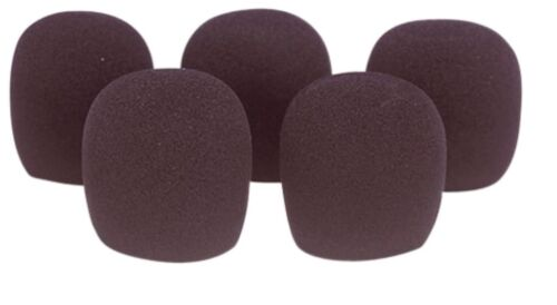 SoundLab Foam Windshield 45mm Dynamic Microphone Wind Sound Protectors 5 Pack