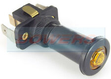 AMBER ILLUMINATED 12V 24V VOLT 16A UNIVERSAL ON/OFF LONG PUSH/PULL SWITCH