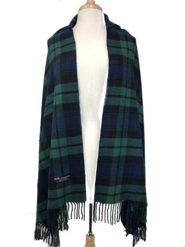 Women Long Blanket Over size Cozy Plaid Checks Tartan Cashmere Scarf Wrap Shawl