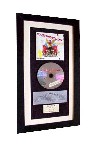 BASEMENT JAXX Kish Kash CLASSIC CD Album TOP QUALITY FRAMED+EXPRESS GLOBAL SHIP