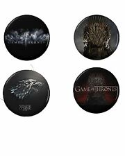 Game of Thrones Button Set (4) 1 1/4''