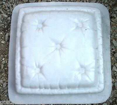 "Pillow stepping stone MOULD mold Heavy duty  plastic mold 2"" thick"