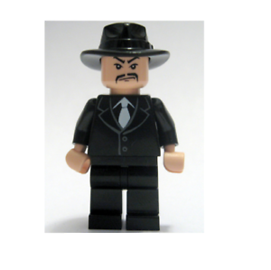 iaj027 NEW LEGO Shanghai Gangster Moustache FROM SET 7682 INDIANA JONES