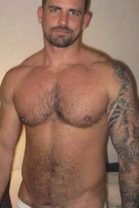 nude with ruddy tattoo on body