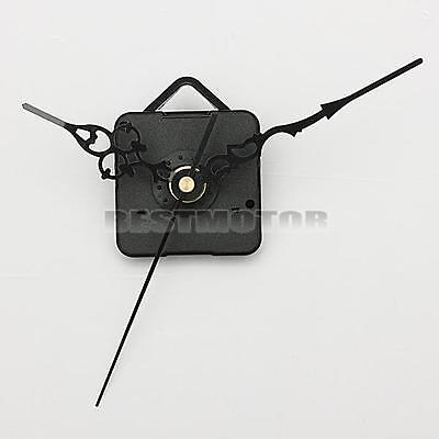DIY Black Hands Quartz Wall Clock Spindle Movement Mechanism Repair Parts Silent