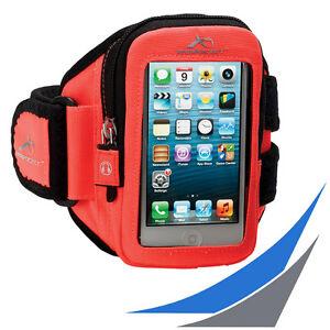 fuer-Smartphones-ARMPOCKET-AERO-i-10-Orange-Sportarmband