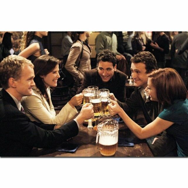 How I Met Your Mother TV Series Show Actor Poster 21 24x36 E-1409