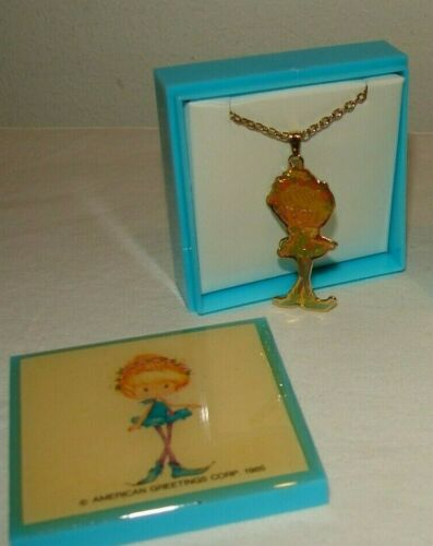 Vintage Herself the Elf Fairy Style #2 Jewelry Box with Necklace New NOS