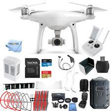 DJI Phantom 4 Drone W/ 4K Camera MEGA EVERYTHING YOU NEED BUNDLE! NEW!