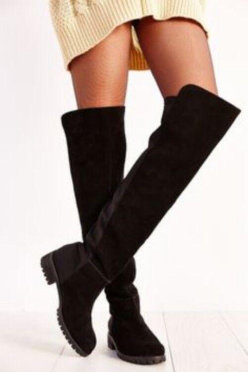 Union Bay Barb Barb Barb Womens Over The Knee Black Boots Sz 6 9 3735da