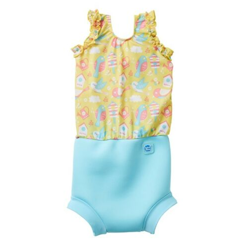 Splash About Happy Nappy Garden Birds Swimming Costume