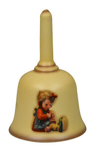 """Goebel Hummel Glocke  """" Der erste Strumpf """" Porzellan Glocke"""