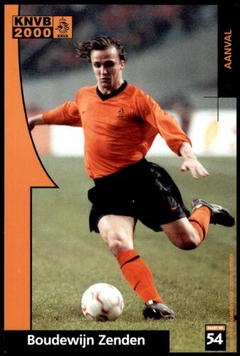 Voetbal International fotokaarten Federación holandesa de fútbol 2000-Boudewijn Zenden no 54
