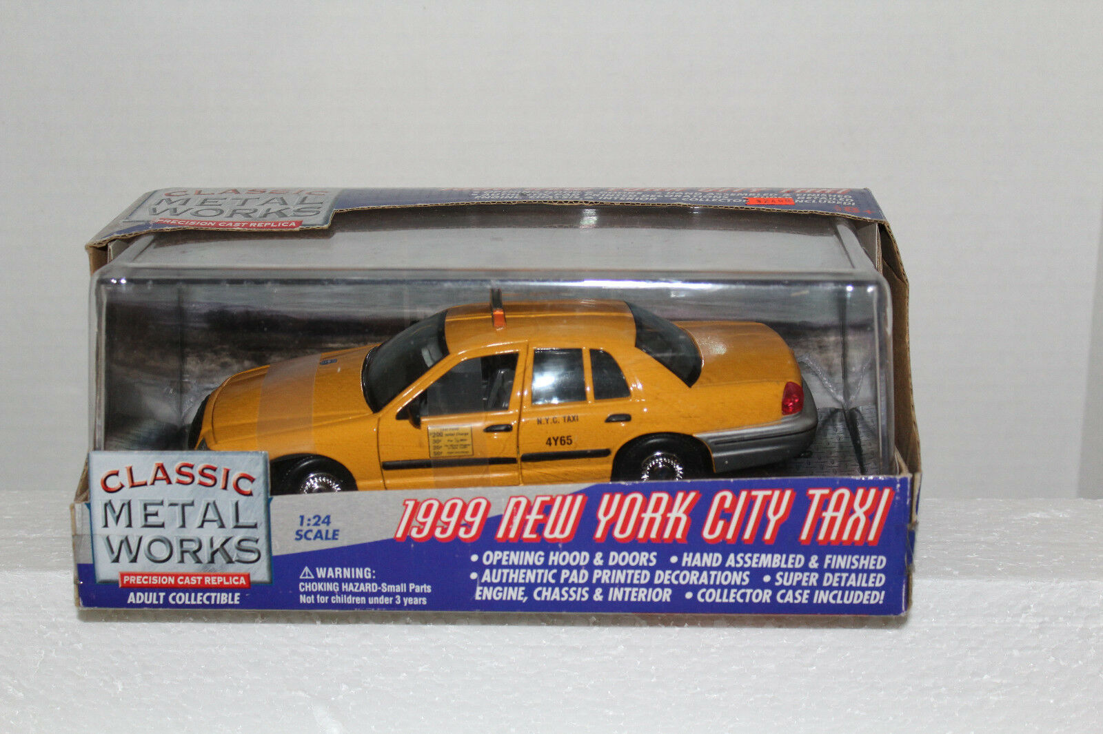 Classic Metal Works 1999 New York City Taxicab 1 24 24 24 ceee56
