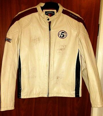 ENERGIE motorcycles leather jacket, very good condition