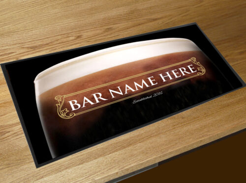 Personalised Stout Guinness Gold Label Bar runner Cocktail Partys Pubs /& Clubs