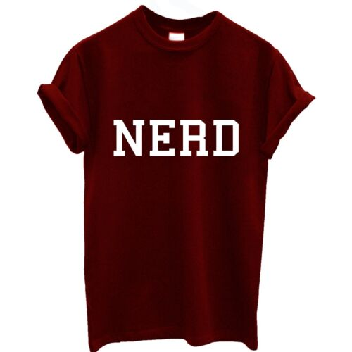 NERD t shirt top wasted youth hipster SWAG indie geek shop baggy dop