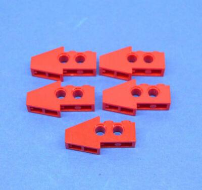 2x Lego Technic Schrägstein mit 2 Löchern 1x4 schwarz 2743 Technik 6143851