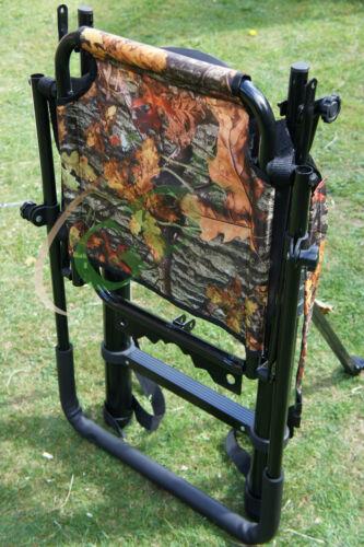Rifle 2,5 m TELESCOPICA alta ALBERO diagramma Ladder lo stalking Zaino alta ALBERO SEDILE pieghevole