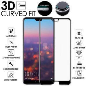 For-Huawei-P20-Lite-Pro-Full-3D-Vidrio-templado-9H-Protector-de-pantalla