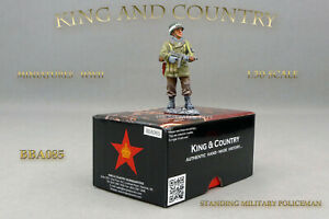 King-and-amp-Country-BBA085-STANDING-MILITARY-POLICEMAN-NEUF-NEW