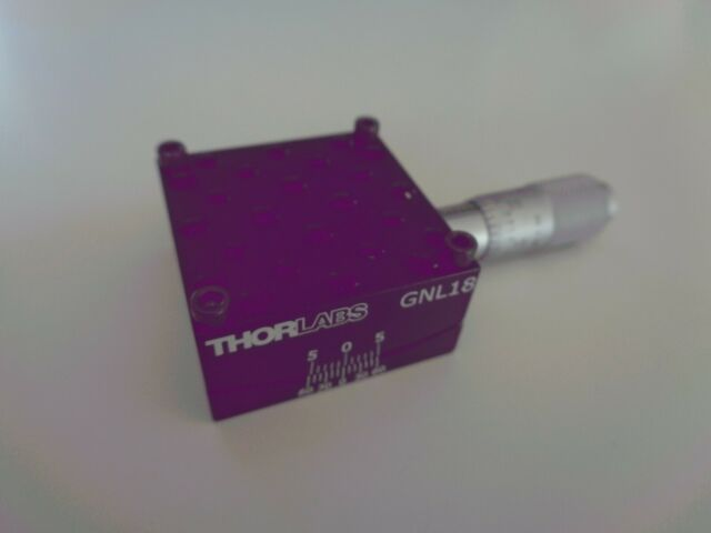 """Thor Labs GNL18 Large Goniometer, 1.75"""" Distance to Point of Rotation, ±5º"""