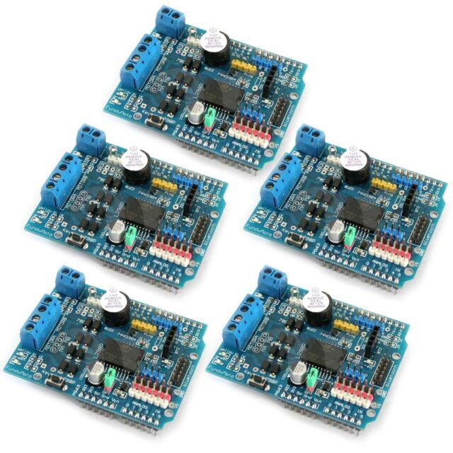 5 Pcs L298P Motor Drive Shield Expansion Board For Arduino UNO R3
