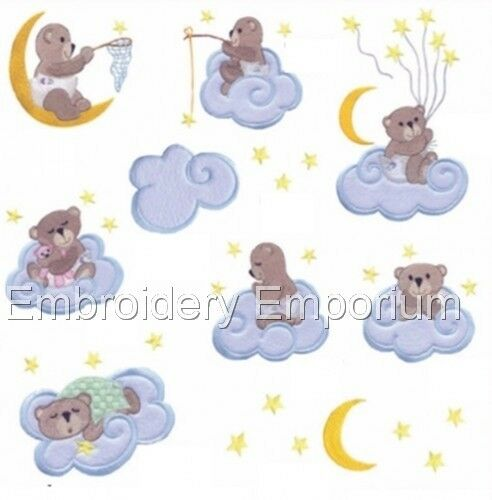 SWEET DREAMS COLLECTION MACHINE EMBROIDERY DESIGNS ON CD OR USB