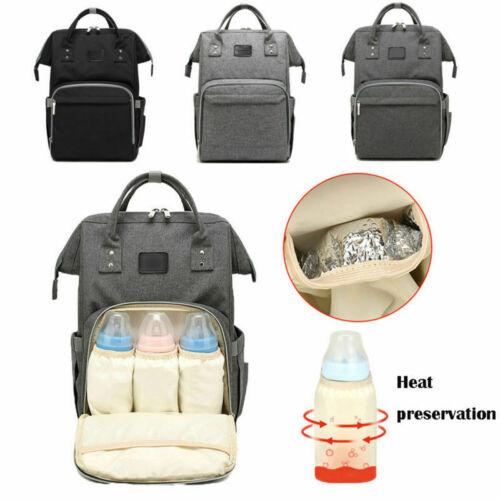 Baby Diaper Nappy Mummy Bag Large Rucksack Hospital Maternity Backpack27*21*49cm