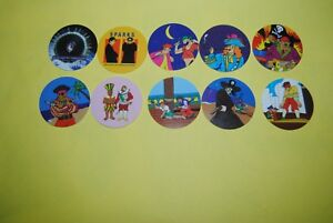 061 pogs pog caps milkcaps flippo : lot de 10 skippies