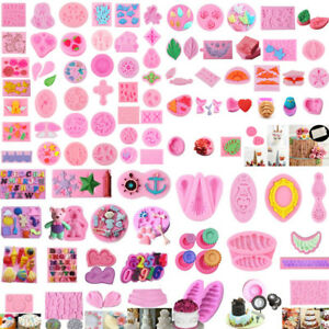 Cake-Decorating-Silicone-Molds-Flower-Soap-Fondant-Chocolate-Baby-Baking-Mould