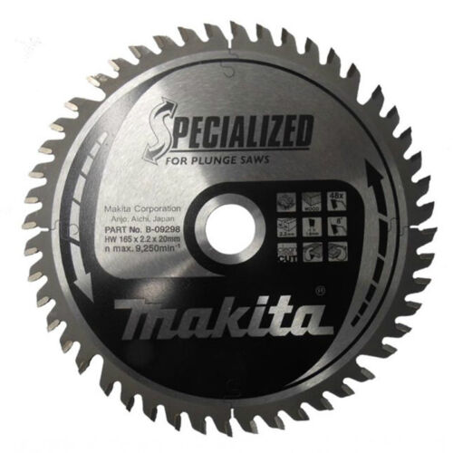 Makita B-09298 Specialised Circular Saw Blade 165mm x 20mm x 48T