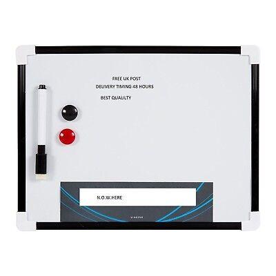 Präsentationsbedarf Klug A4 Trocken Wischen Magnetisch Büro Weißtafel Notice Memo Weiße Tafel Stift Den Speichel Auffrischen Und Bereichern