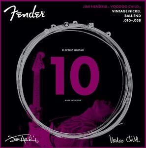 Fender-Jimi-Hendrix-Voodoo-Child-BALL-END-NICKEL-Electric-Guitar-Strings-10-38