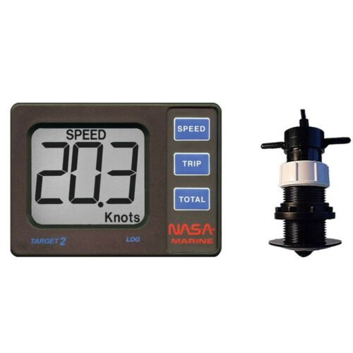Nasa Marine Target 2 Speed & Distance Log inc. Transducer