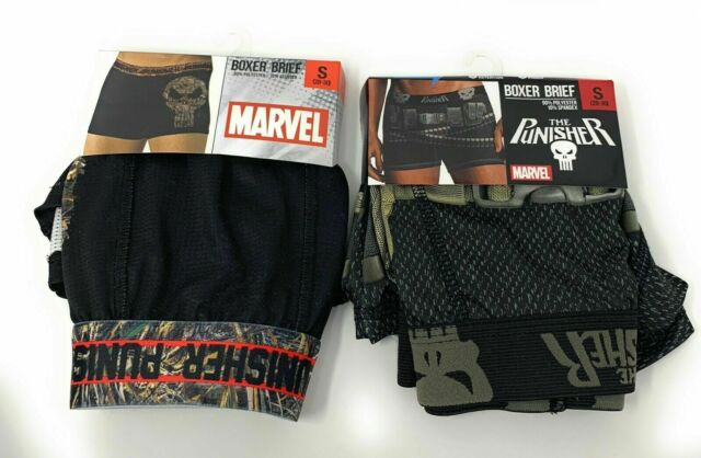 Marvel THE PUNISHER ~ Themed BOXER BRIEFS ~  Men/'s  S  M  XL ~ NWT