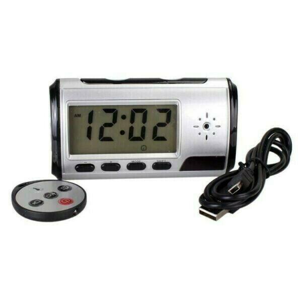 Alarm Clock Motion Detection Video