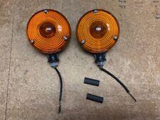 Pair Tractor Warninglamp Flasher Lights Replace Deere Ch12713lva800967
