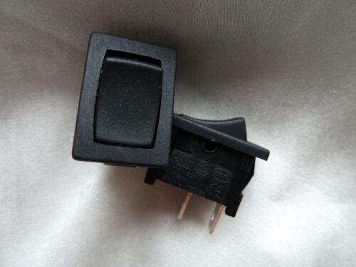 Paire de miniatures rocker switches noir 879