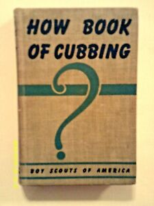 """1943 """"How Book of Cubbing"""" - last mention ever of """"Cubbing"""