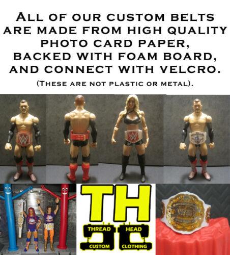 10 Custom Wrestling Figure ceintures WWE WWF NXT du 2018 figues non inclus
