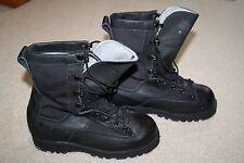 Belleville Goretex Black Black Combat Boots Military Army Vibram Near Mint 4.5XW