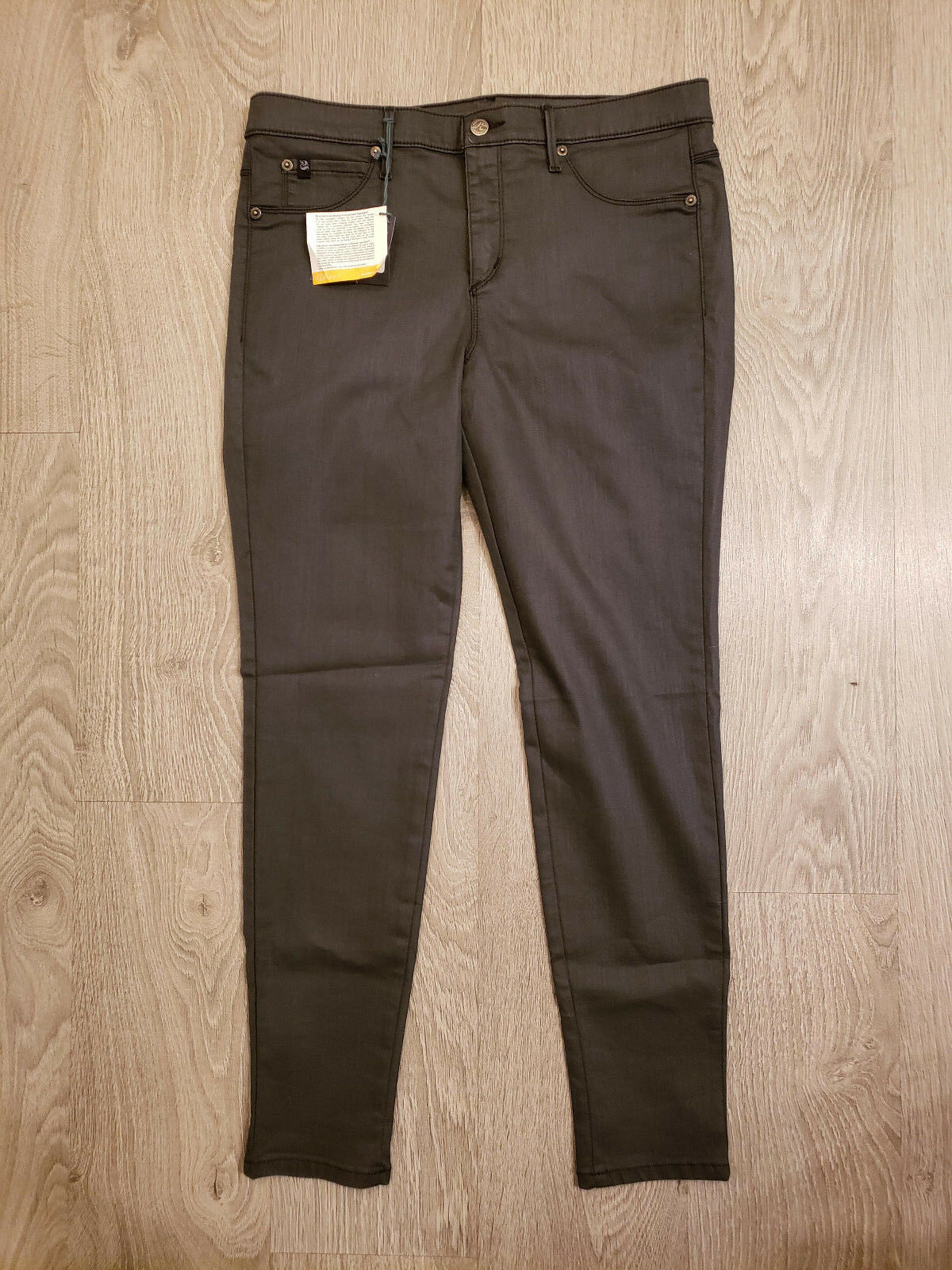 Second Yoga Jeans Women's - Asphalt - Classic Rise Skinny - Size 33 - SWP1337