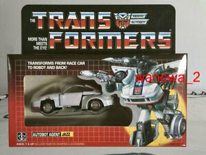 New TRANSFORMERS G1 AUTOBOT JAZZ REISSUE action figure toys