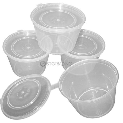 Hinged 2oz 4oz Clear Plastic Chutney Cups With Lids// Sauce Pots// Deli// Desserts