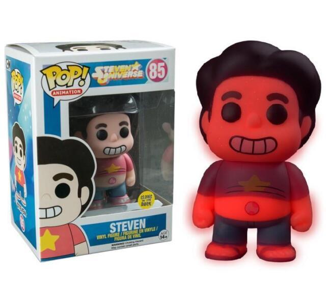 Steven Universe Glow in the Dark Steven Exclusive Pop! Vinyl Figure Funko 85